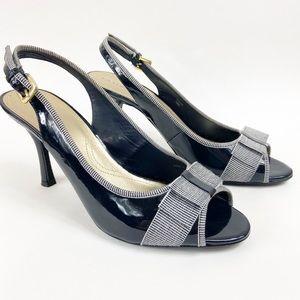 Tahari   Diane Sling Back Heel Sz 10